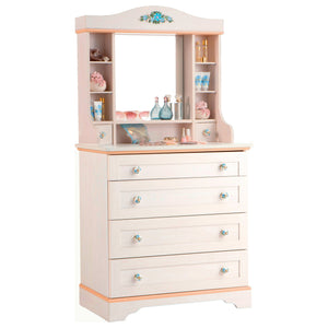 Cilek Flora Dresser With Mirror Unit