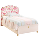 Cilek Flora Fabric Head Bed With Base (100X200)