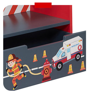 Fantasy Fields Fire Engine Book Shelf