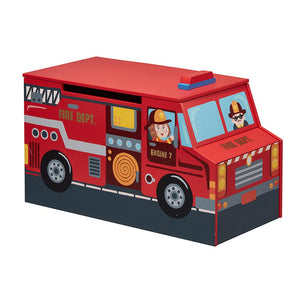Fantasy Fields Fire Engine Toy Storage