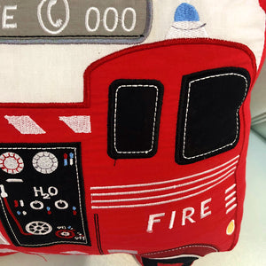 Plush Fire Engine