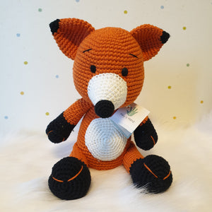 May's Hand Fox Foxy Lalylala Crochet