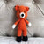May's Hand Fox Foxy Standing Rattle Crochet