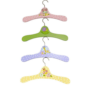 Fantasy Fields Garden Set of 4 Hangers