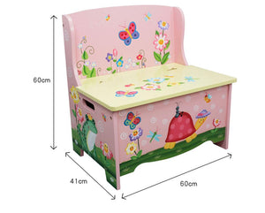 Fantasy Fields Garden Storage Bench