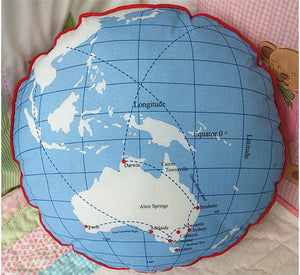 Joey's Globe Cushion