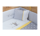 Cilek Convertible Baby Bed With Table White (70X110 Cm 70X140 Cm) - With Mattress (With Bedding Options)