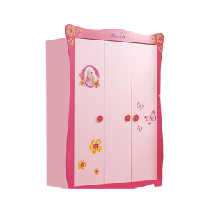 HB Rooms Barbie 3 Door Wardrobe (BA07)