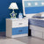 HB Rooms Blue Star Bedside Table (851#)