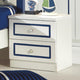 HB Rooms Classic Navy Blue Bedside Table (962#)