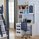 HB Rooms Cottage Blue Study Table (611B#)