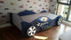 HB Rooms F1 Racing Car Bed with 1 Drawer (Red or Blue)