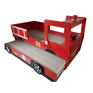 HB Rooms Fire Engine Bed with Pullout (A08)