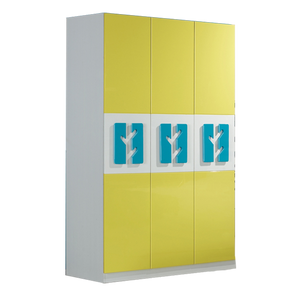 HB Rooms Forest 3 Door Wardrobe (838#)