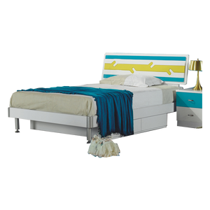 HB Rooms Forest Queen Size Bed (838#)
