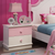 HB Rooms Hello Kitty Solid Wood Bedside Table (9016#)