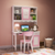 HB Rooms Hello Kitty Solid Wood Study Table (9016#)