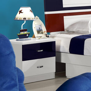 HB Rooms Jersey Bedside Table (857#)