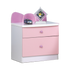 HB Rooms Lovely Pink Bus Bedside Table (E216#)