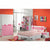 HB Rooms Pink Flower Bedroom Set (839#)