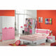 HB Rooms Pink Flower Study Table (839#)