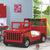 HB Rooms Red Jeep Bed (HY801)