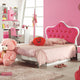 HB Rooms Royal Pink Queen Size Bed (856#)