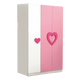 HB Rooms Royal Pink Wardrobe (856#)