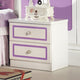 HB Rooms Royal Purple Bedside Table (966#)