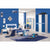 HB Rooms Sleek Blue Bedroom Set (852#)
