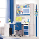 HB Rooms Sleek Blue Study Table (852#)