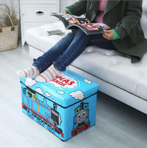 WAGEN Pale Pink Hello Kitty Storage Stool (B33)