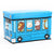 WAGEN Blue Animal School Bus Storage Stool (B09)