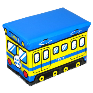 WAGEN Blue Train Storage Stool (A03)