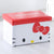 WAGEN Hello Kitty Face Storage Stool (B22)