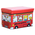 WAGEN Red Hello Kitty Bus Storage Stool (B26)