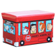 WAGEN Red Snoopy Bus Storage Stool (B24)