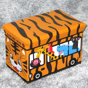 WAGEN Safari Bus Storage Stool (A09)