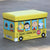 WAGEN Yellow Snoopy Bus Storage Stool (B18)