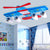 KLAAR Aeroplane Ceiling Light with tiny LED light bulbs