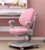 Large Pink Ergo Study Table With Chair