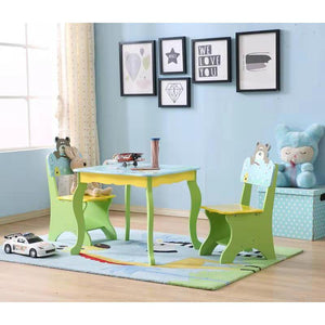 LEKEN Animal Table and Chairs Set
