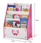 LEKEN Dolly Magazine Rack