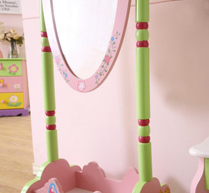 LEKEN Fairies Standing Mirror