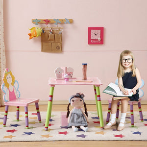 LEKEN Fairies Table and Chairs Set