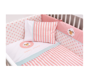 Cilek Baby Cotton St Convertible Baby Bed (75X160 Cm) (With Bundle Options)