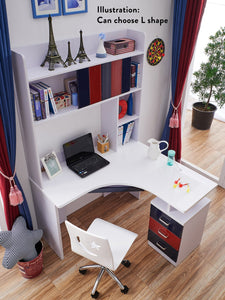 HB Rooms Foilage Study Table (#8110)