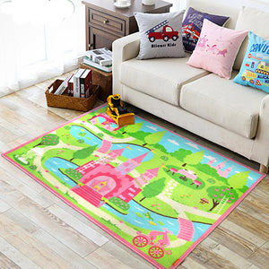 EFFEN Princess Castle Rug