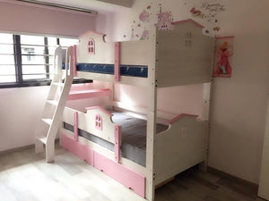 Oslo Little House Double Deck Bed