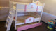 WCB Little House Triple Deck Bed